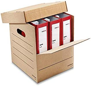 Cajas de cartón para mudanza archivador y embalaje carpetas ...