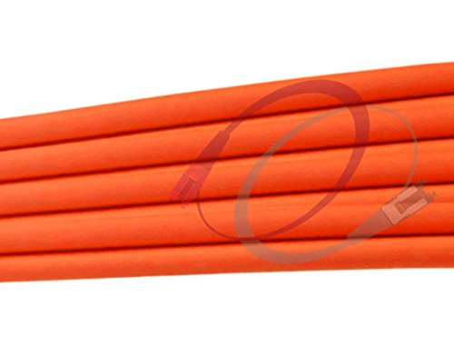 FiberCablesDirect - 150M OM1 SC SC Fiber Patch Cable | 1Gb Duplex 62.5/125 SC to SC Multimode Jumper 150 Meter (492.12ft) | Length Options: 0.5M - 300M | 1gb 10gb mmf sc-UPC sfp 1gbase PVC ofnr sc-sc by FiberCablesDirect (Image #3)