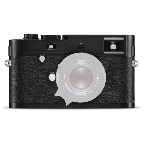 Leica M Monochrom (Typ 246) Digital Rangefinder Camera Body, 24MP, Black& White Image Sensor, Black