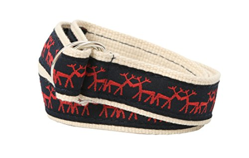 (Bean Belts Baby-Boy's Preppy Holiday Belt, Adjustable)