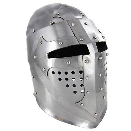 Medieval Knight Great Bascinet Kettle Armor Hat by Armory Replicas