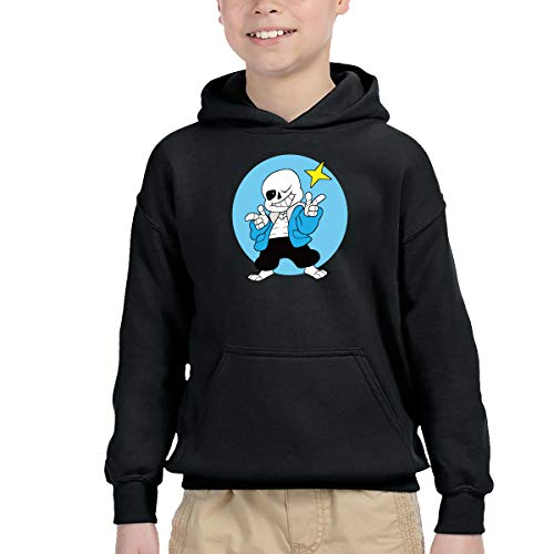 Chen Yun Game Undertale Character Design Boys' Pullover Hoodies Cotton Hooded Sweatshirts