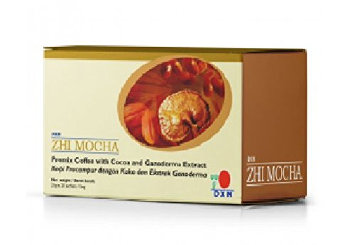 15 Box DXN Zhi Mocha with Healthy Ganoderma Coffee ( Total : 300 sachets x 21 g ) by DXN