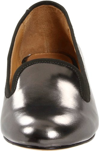 Mark + James Door Badgley Mischka Womens Erin Smoking Slipper Pewter