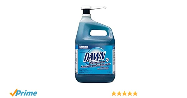 Amazon.com: Dawn Dishwashing Detergent - Gallon Jug (1 Gallon with Pump): Health & Personal Care