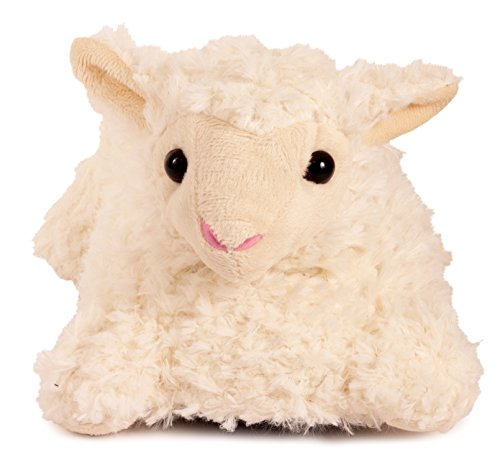 Lazy Paws Adult-Sized Lamb Slippers (Size Medium Only)