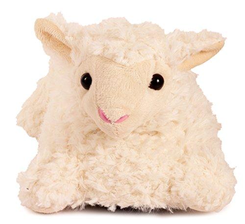 Lata Tassar Vuxen Storlek Djur Tofflor - Storlek Medium Endast Lamm