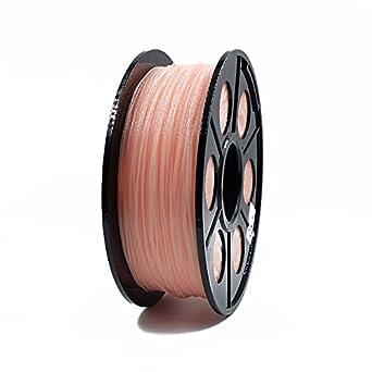 hackka 1,75 mm 1 kg 3d filamento Imprimir Filamento rosa/color de ...