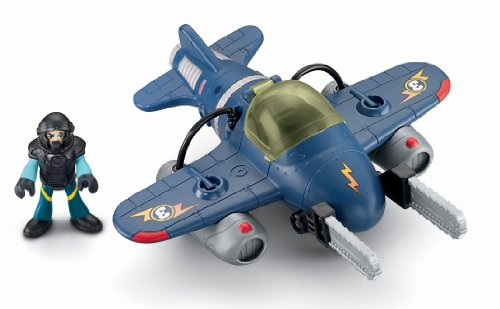 Fisher-Price Imaginext Sky Racers Twister Jet - coolthings.us