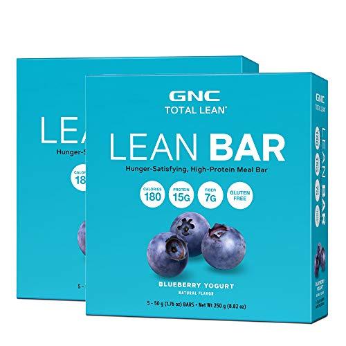 - GNC Total Lean Lean Bar - Blueberry Yogurt - Twin Pack