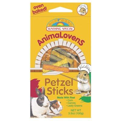 Animalovens Pretzel Sticks Food [Set of 3] by Sunseed