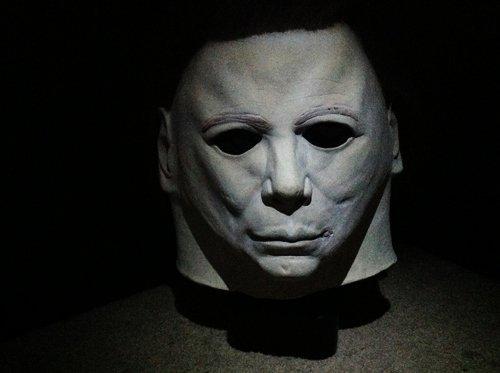 Don Post Michael Myers Latex Horror Mask Hair Halloween b...