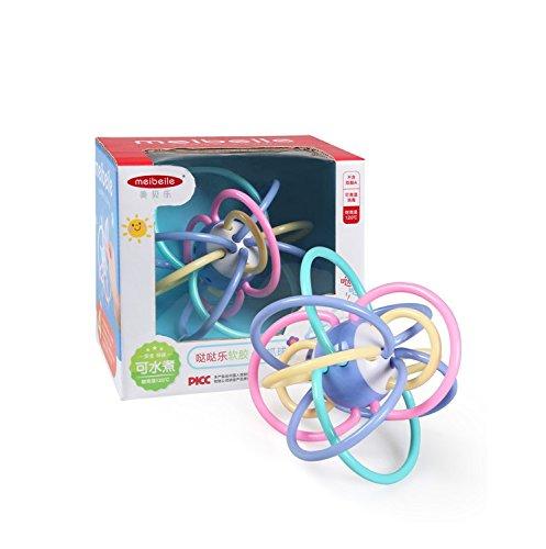 Gold butterfly@ Manhattan Ball Baby Cepillo de Dientes Campana 0-3-6-12 Meses bebé Puzzle juguetes: Amazon.es: Deportes y aire libre
