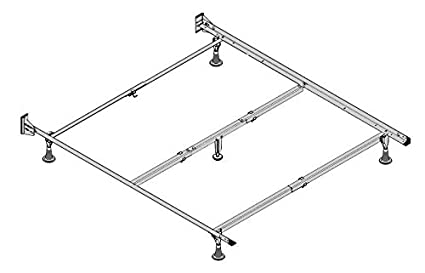 Amazon Com The Restmore Deluxe Series Bed Frames With Glides For
