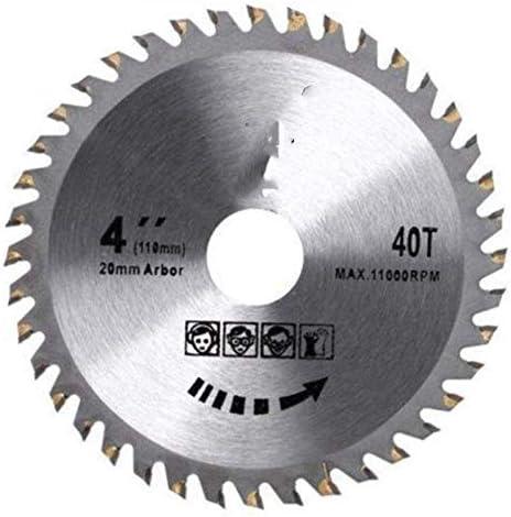 WXQ-XQ 丸のこ刃ディスクウッドは、ツールの内径に回転工具木工、Aのための110ミリメートルカッティングソーの1pcs 4インチ40本の歯を切削します