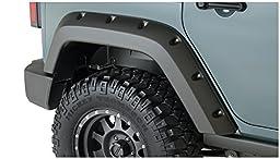 Bushwacker 10080-02 Pocket Style Rear Fender Flare for Jeep Wrangler - Pair