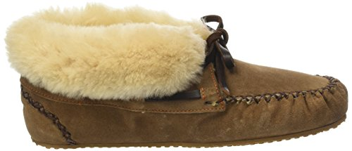Shepherd - Zapatillas de Estar Por Casa de Otra Piel Mujer marrón