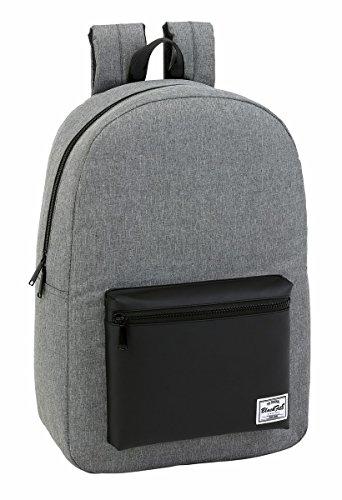 15 Laptops for Backpack Grey up Blackfit8 6'' Official to amp; Teenager's Black 0xwSpqY4v