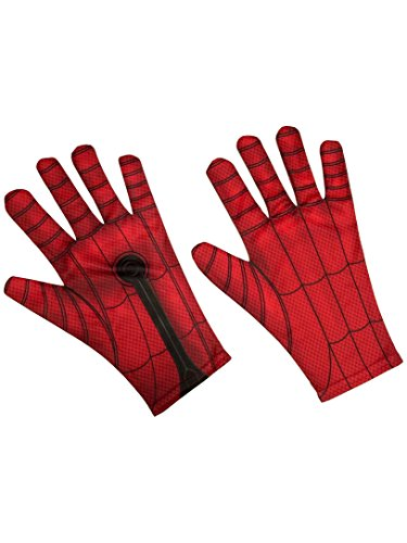 Rubie's Men's Spider-Man Adult Costume Accessories, As As Shown, Gloves ()