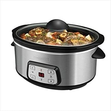 Black And Decker SL6470C Digital Slow Cooker, 7-Quart