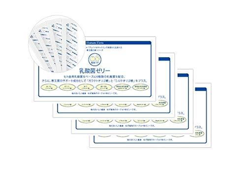 ヒューマンフローラ 乳酸菌ゼリー(15g×30包)×4箱セット   B07P993LB6