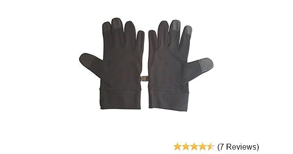 Zephyr Tactical Full Finger Carbon Fiber Knuckle Gloves w//Touchscreen Technology