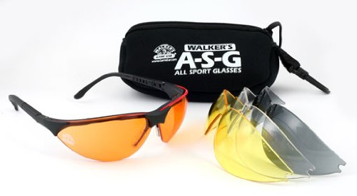 Walker's Game Ear Sport Glasses with Interchangeable Lens