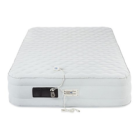 AeroBed® Luxury Pillow Top 16-Inch Air Mattress Inflatable Bed