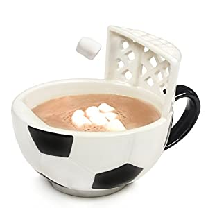 The Soccer Mug With A Goal by MAX'IS Creations