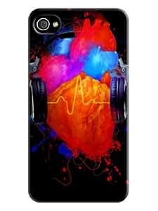 Premium Textures Designed Phone Case for Iphone 4/4s