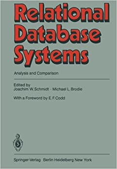 Book Relational Database Systems: Analysis and Comparison