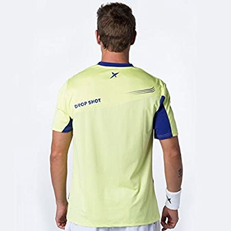 DROP SHOT - T Shirt Pro Elite Jmd, Color Amarillo, Talla S: Amazon ...