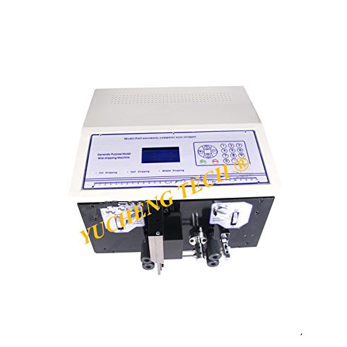 SWT508-SDB Short-wire Type Computer Wire Cutting Stripping Peeling Machine Shortest Peel 20mm (110V) -  YUCHENG TECH