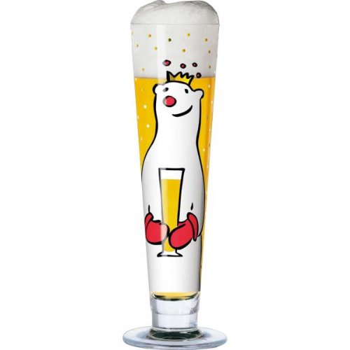 Ritzenhoff Pilsner Beer Glass with Coaster by Designer Ju...