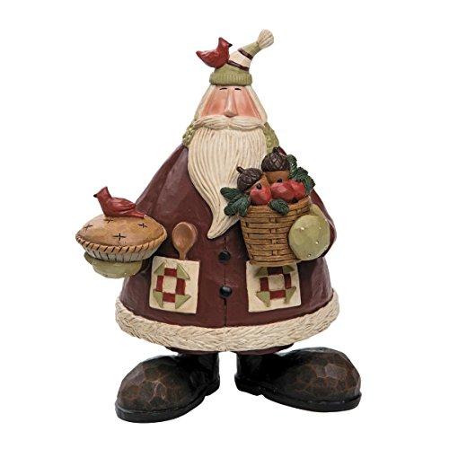 Foreside FFGH04750 Williraye Studios Natural Baker Santa Home Décor