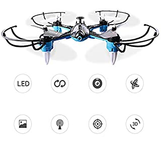 Dongdongole WiFi RC Smart Drone Helicopter Quadcopter Aircraft Toy Drone Camera with Altitude Hold Headless Mode