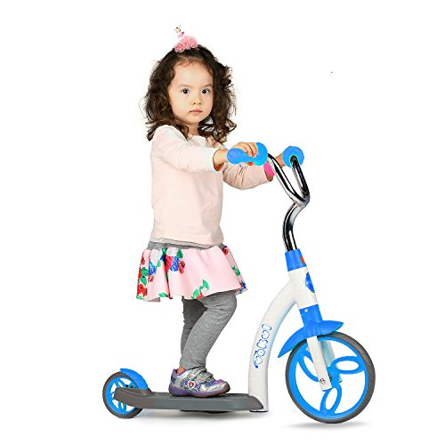 Vokul Mini Kick Scooter Big Wheel-Age 2-5 Years,Height 95-120cm