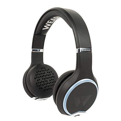 Wearhaus Bluetooth Headphones (2016 Version) - Black