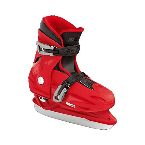 Roces 450518 Kids Model MCK II H Ice Skate, US 13jr-3, Black/Red by Roces (Image #1)