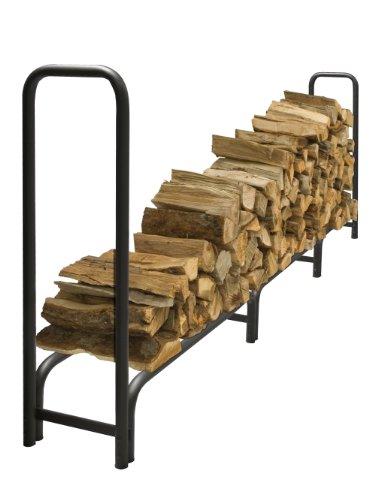 PleasantHearth - 38mm Premium Heavy Duty Log Rack, 12 Feet, Rack Only (For Sale Rack Firewood)