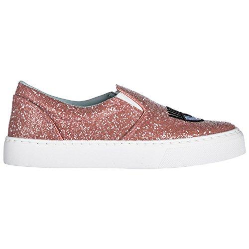 Femme Logomania Rose on Chiara Slip Sneakers Ferragni 78wqqntxp