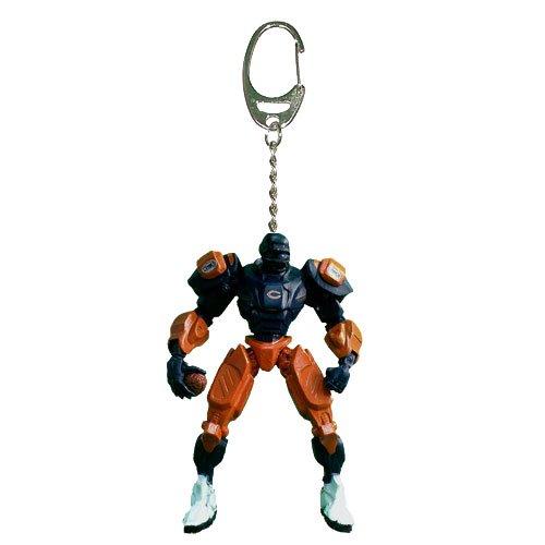 (NFL Chicago Bears Fox Sports Team Robot Key Chain, 3-inches)