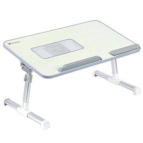 Totalmente ajustable Mesa portátil Panel MDF | Ordenador portátil Notebook soporte con una función de ventilador