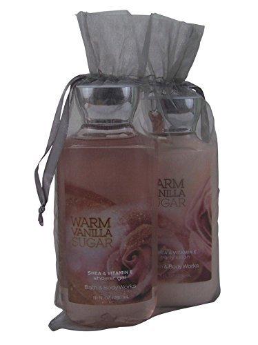 bath-body-works-warm-vanilla-sugar-gift-set-bundle-of-2-items-shower-gel-and-body-lotion