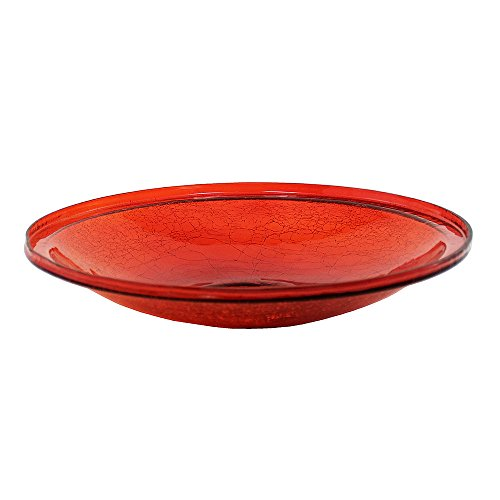 Achla Designs Crackle Glass Bowl