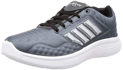 Lancer Men's Grey Hiking Shoes-9 UK (43 EU) (AIR-1GRY-BLK-9)