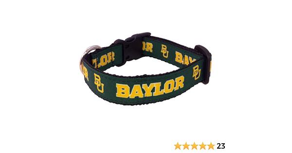 Medium NCAA Baylor Bears Collegiate Dog Collar