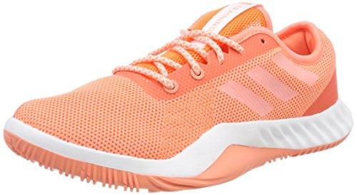 Footwear Coral Orange Hi Damen adidas res Fitnessschuhe Chalk Orange Lt Crazytrain White wg8wqP6
