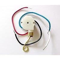 Zing Ear Ceiling Fan Pull Chain 3 Speed Control Switch Ze-208s E89885 Ceiling Fan Replacement Speed Control Switch for 3 Speed / 4 Wire Zing Ear by Zing Ear