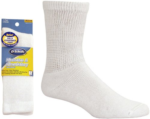 Dr. Scholl's Diabetes & Circulatory Diabetic Sock Crew 1 Pair